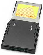 CompactFlash 4-in-1-Adapter [Foto: MediaNord]