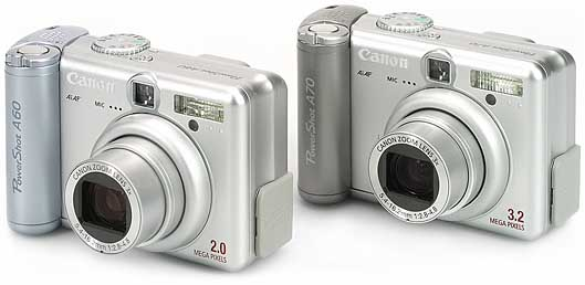 Canon PowerShot A60 und A70 [Foto: MediaNord]