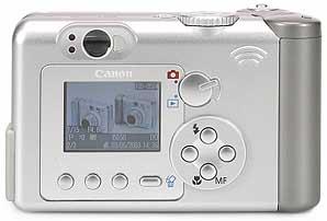 Canon PowerShot A70 - Rückansicht [Foto: MediaNord]