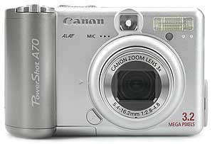Canon PowerShot A70 [Foto: MediaNord]
