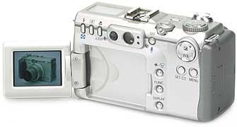 Canon PowerShot G3 - Rückansicht [Foto: MediaNord]