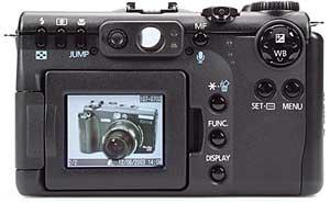 Canon PowerShot G5 - Rückansicht [Foto: MediaNord]