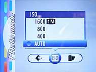 Fujifilm FinePix F700 - Menü 2 [Foto: Fujifilm]