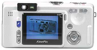 Fujifilm FinePix F700 - Rückseite [Foto: Fujifilm]