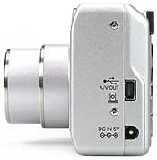 Fujifilm FinePix F700 - Anschlüsse [Foto: Fujifilm]