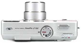 Fujifilm FinePix F700 - oben [Foto: Fujifilm]