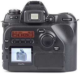 Fujifilm FinePix S2 Pro - Rckseite [Foto: MediaNord]
