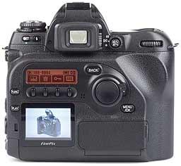 Fujifilm FinePix S2 Pro - Rückseite [Foto: MediaNord]