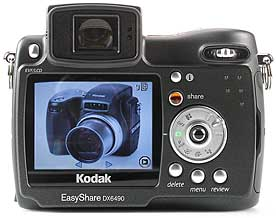 Kodak DX6490 Zoom - Rückansicht [Foto: MediaNord]