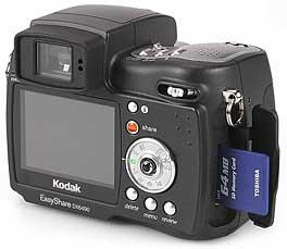 Kodak DX6490 Zoom - Speicherplatz [Foto: MediaNord]