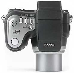Kodak DX6490 Zoom - oben [Foto: MediaNord]