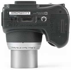 Kodak DX6490 Zoom - unten [Foto: MediaNord]