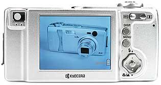 Kyocera Finecam L3v - Rückansicht [Foto: MediaNord]