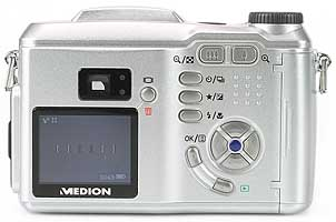 Medion MD40696 - Rückansicht [Foto: MediaNord]