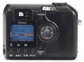 Nikon Coolpix 4300 - Rückansicht [Foto: MediaNord]