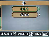 Olympus C-5050 Zoom - Menü Auflösung 1 [Foto: MediaNord]
