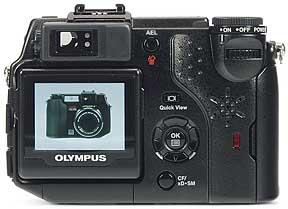 Olympus C-5050 Zoom - Rückansicht [Foto: MediaNord]