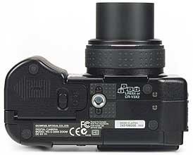Olympus C-5050 Zoom - unten [Foto: MediaNord]