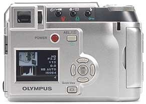 Olympus C-730 Ultra Zoom - Rückansicht [Foto: MediaNord]