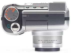 Olympus C-730 Ultra Zoom - oben [Foto: MediaNord]