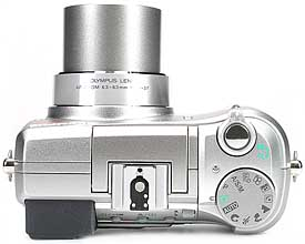 Olympus C-750 Ultra Zoom - oben [Foto: MediaNord]
