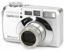 Pentax Optio 550 [Foto: MediaNord]