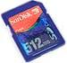 SanDisk SD-Card 512 MByte [Foto: MediaNord]