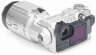 Sony DSC-F717- Rückansicht [Foto: MediaNord]