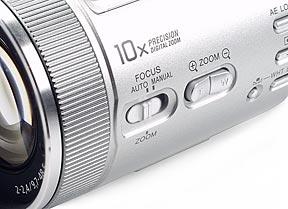 Sony DSC-F717-Zoom-/Fokussierring [Foto: MediaNord]