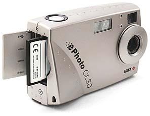Agfa ePhoto CL30 Front- und Seitenansicht