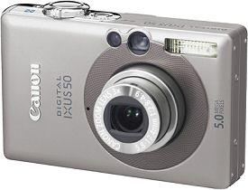 Canon Digital Ixus 50 [Foto: Canon Deutschland]