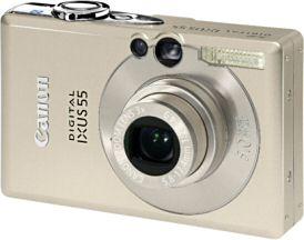Canon Ixus 55 [Foto: Canon Deutschland]