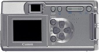 Canon PowerShot A100 Rückseite [Foto: Canon]