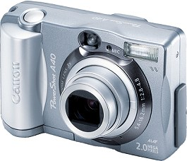 Canon PowerShot A40 [Foto: Canon]