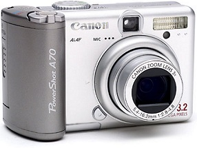 Canon PowerShot A70 [Foto: Canon]
