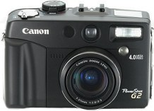 Canon PowerShot G2 in Schwarz [Foto: Canon]