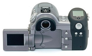 Canon PowerShot Pro90IS Rückansicht [Foto: Canon]