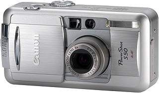 Canon PowerShot S50 [Foto: Canon]