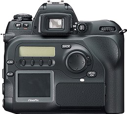 Fujifilm FinePix S2 Pro Rückseite [Foto: Fujifilm]