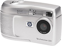 HP Photosmart 320 [Foto: Hewlett-Packard]