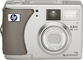 HP Photosmart 735 [Foto: Hewlett-Packard]