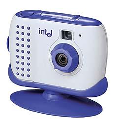 WebCam/Digitalkamera Kombinationslösung: Intel Pocket PC Camera [Foto: Intel]