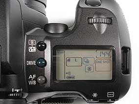 Canon EOS D60 - Detail Display [Foto: MediaNord]