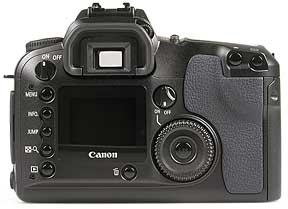 Canon EOS D60 Rückseite [Foto: MediaNord]