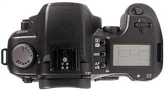 Canon EOS D60 - oben [Foto: MediaNord]