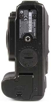 Canon EOS D60 Unterseite [Foto: MediaNord]