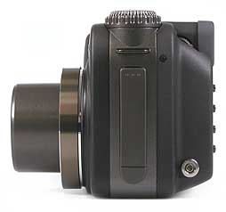 Casio QV-4000 - linke Kameraseite [Foto: MediaNord]