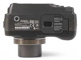Casio QV-4000 - Unterseite [Foto: MediaNord]