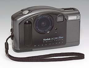 Kodak DC200 Plus Frontansicht (Foto: MediaNord)