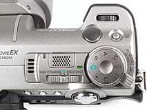 Sony DSC-F707 - Jog-Dial-Rad [Foto: MediaNord]